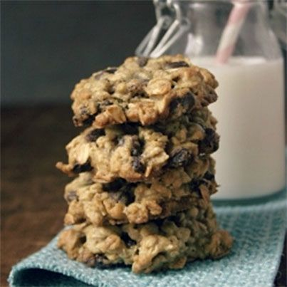 Oatmeal Raisin Chocolate Chip Cookies | Food I want to make | Pintere ...