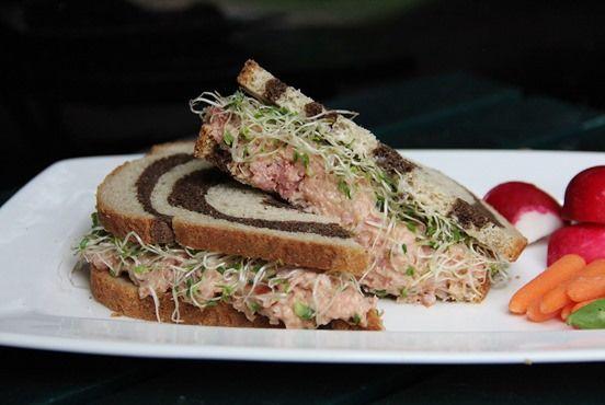 chicken salad sandwich salad deviled ham sandwich deviled ham and ...