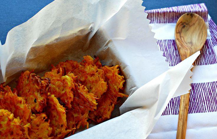 Sweet Potato Butternut Squash Latkes   Veggie Side Dishes   Pinterest