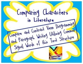 Compare and Contrast Essay Graphic Organizer