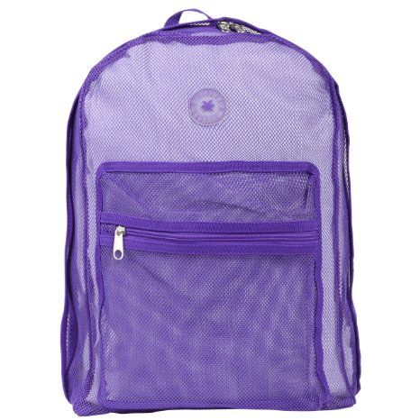 ... Mesh Backpack for School Student/ Clear Backpack/ School Backpack