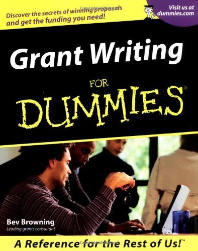 grant writing for dummies pdf