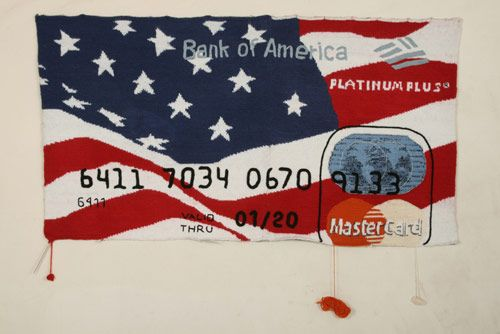 knit credit cards!
