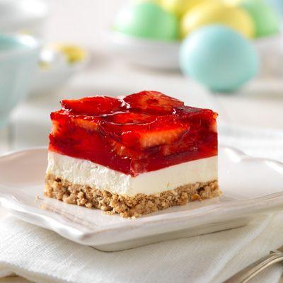 Strawberry Pretzel Squares Recipe - Delish.com
