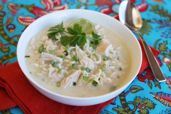 Easy Thai Coconut Soup