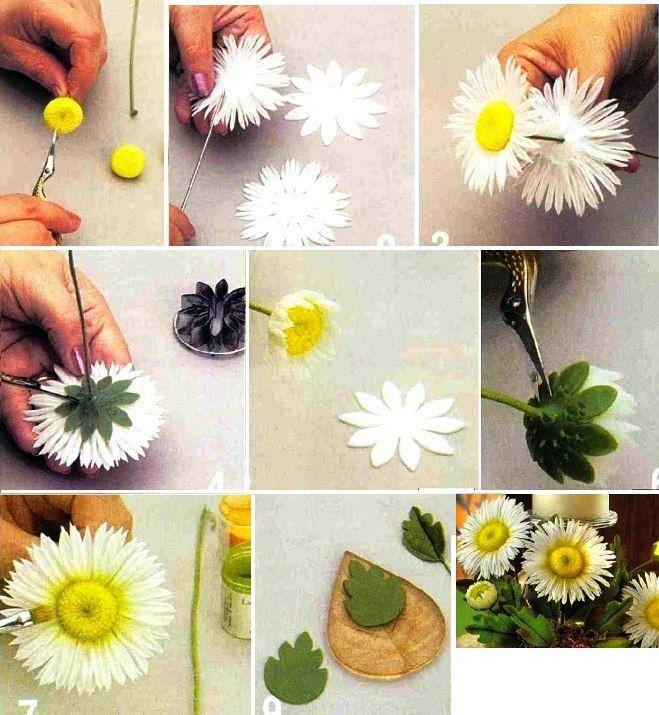 Изготовление цветов из фоамирана своими руками 45