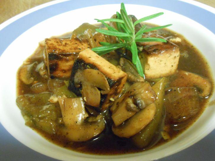 ... Marsala wine, fresh garlic and rosemary! A versatile sauce to serve