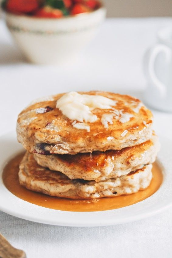 blueberry oat pancakes | 1000 Ways to Make Pancakes and Waffles | Pin ...
