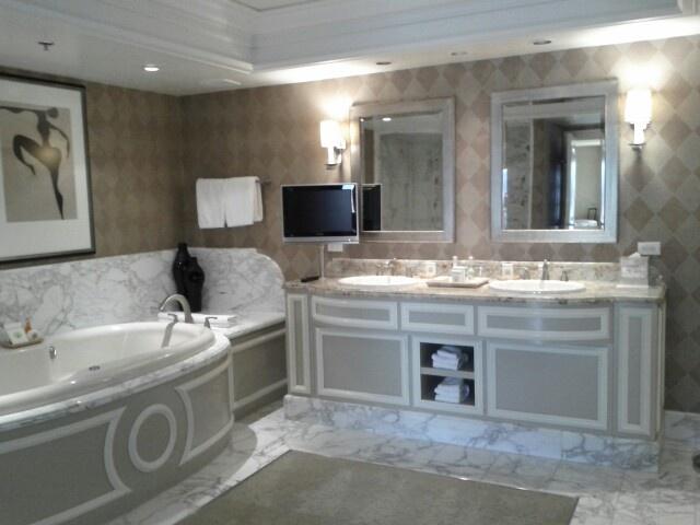Bathroom In Bellagio Las Vegas Suite Bellagio Pinterest