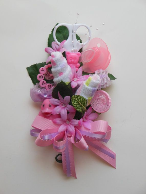 baby shower corsage for mom