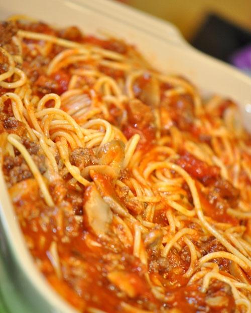 Baked Spaghetti | Recipe