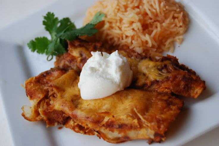 Lighter Chicken Enchiladas - The Sisterhood of the Shrinking Jeans LLC