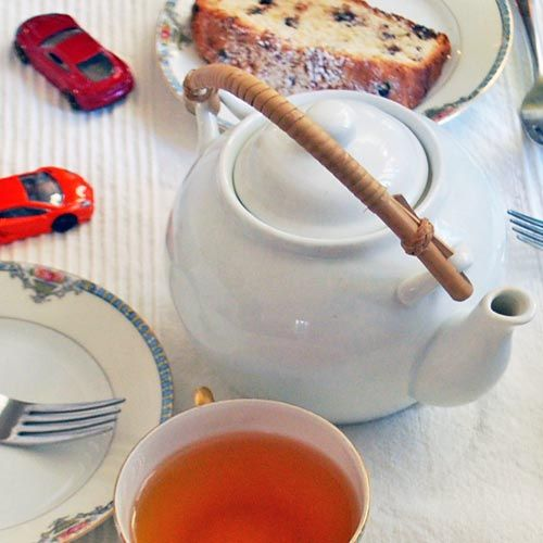 Tea Party with French Yogurt Cake. Perfect for kids to make (almost ...