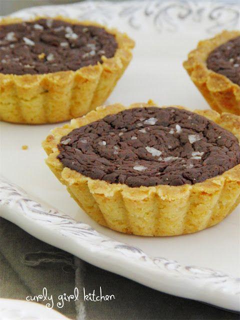 Chocolate Peanut Butter Tartlets | Baking | Pinterest