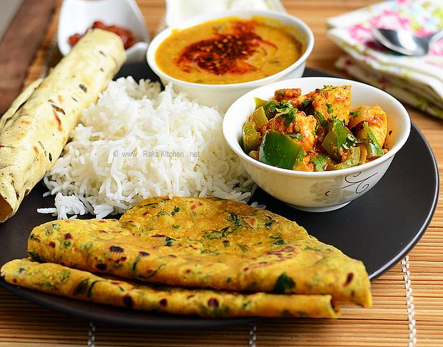 North indian lunch recipes food sites pinterest for Lunch food