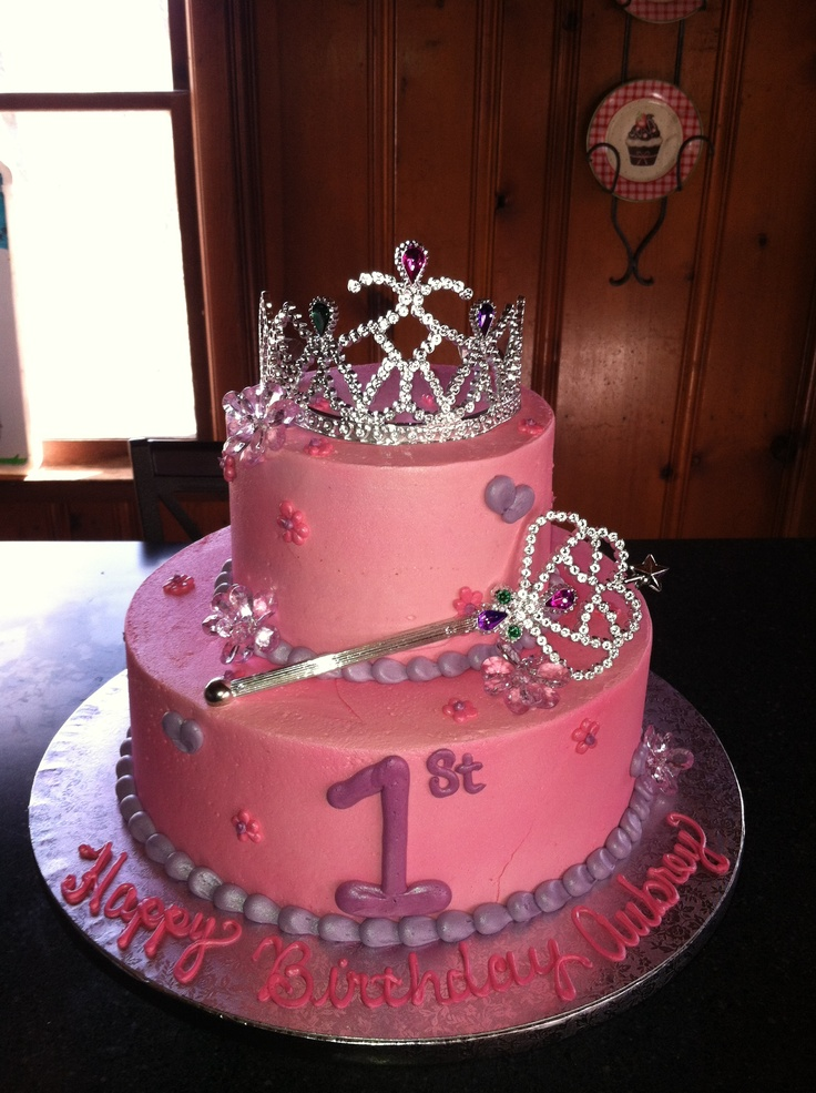 Princess 1st birthday cake  Birthday Cakes  Pinterest