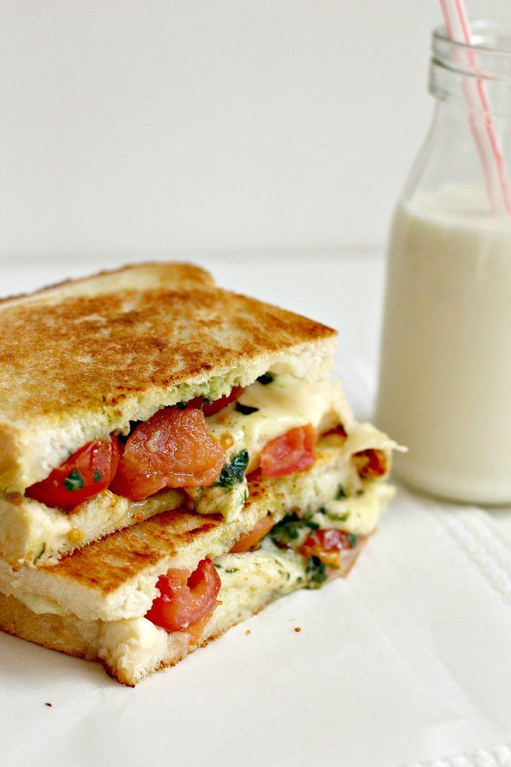 Grilled Caprese Sandwich | Food & Wine | Pinterest
