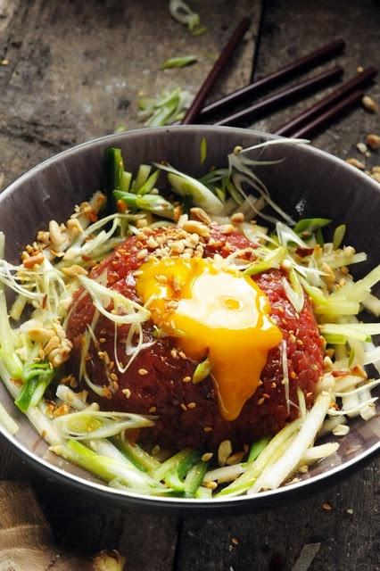 Yukhoe - Tartare Korean | Good Eats | Pinterest