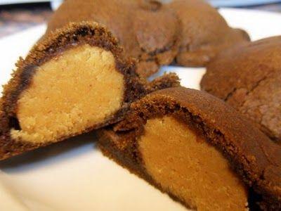 Peanut Butter Chocolate Pillows (purelivingforlife.com) #dessert # ...