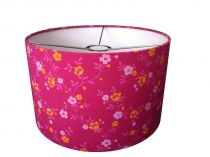 Lamp met schatige bloemetjes in roze!  Babykamer/Kinderkamer  Pinte ...
