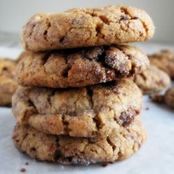 Peanut butter brownie chunk cookies | Yummy Goodies | Pinterest