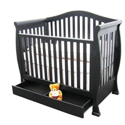 baby crib with storage drawer baby