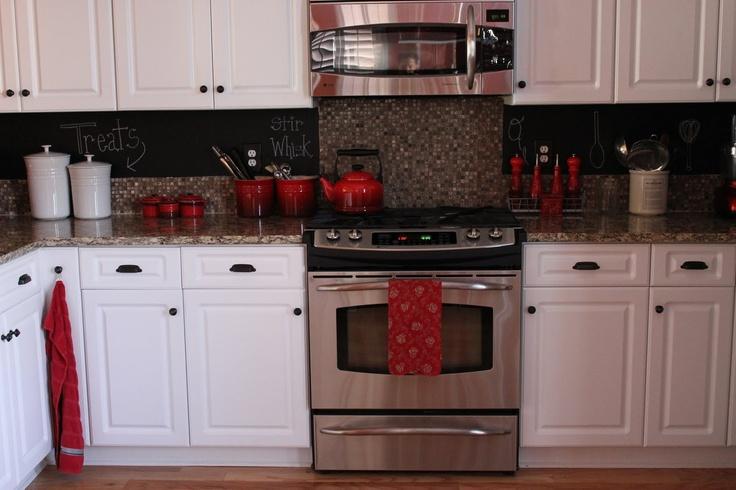 my new chalkboard backsplash kitchen pinterest diy tutorial chalkboard paint backsplash 250 home