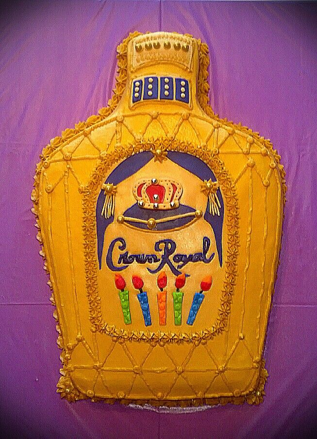 Cake With Crown Royal : Crown Royal Cake Cake Ideas and Designs
