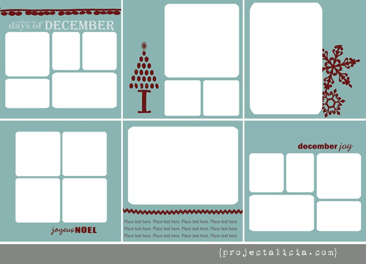 Free Page Templates from Project Alicia | Scrapbooking and Cards | Pi ...