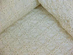 Winter Crochet Weave Natural Blanket | Mix and Match Bedding ~ My Com ...