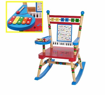 Musical Rocking Chair--GENIUS!!