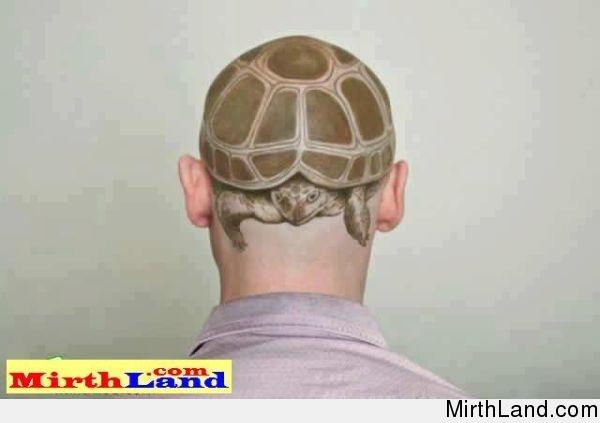 Amazing Haircut Tatoo Guess