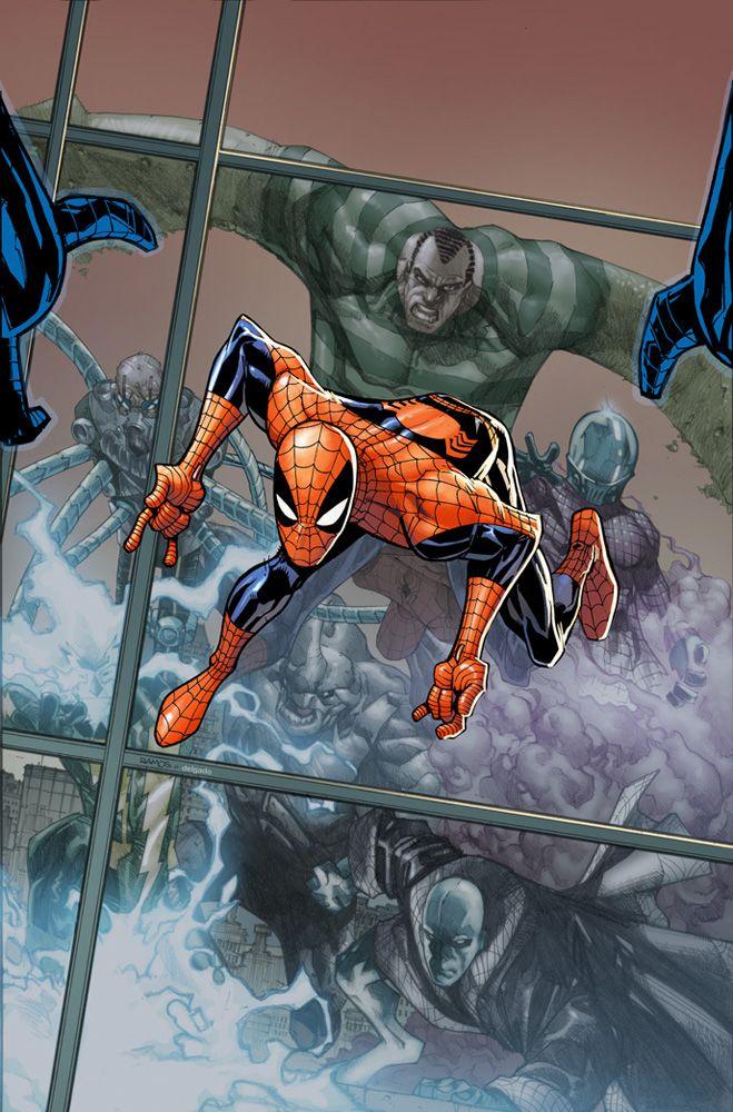 Amazing Spider-Man 676 cvr  by ~Eldelgado