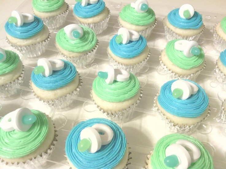 Living room decorating ideas pinterest baby shower for Baby shower cupcake decoration ideas