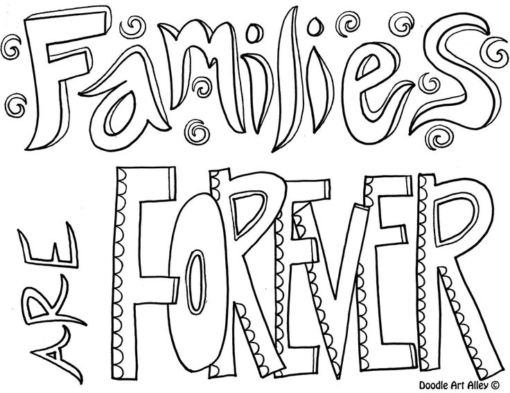 Best Sister Coloring Pages : Free mom dad brother sister coloring pages