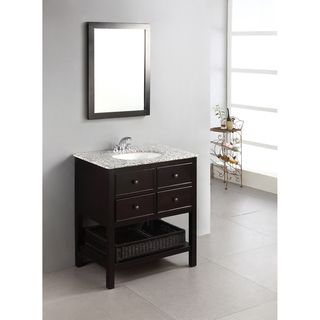 New 30 Inch Bathroom Vanity Single Sink Cabinet In Shaker White With Soft