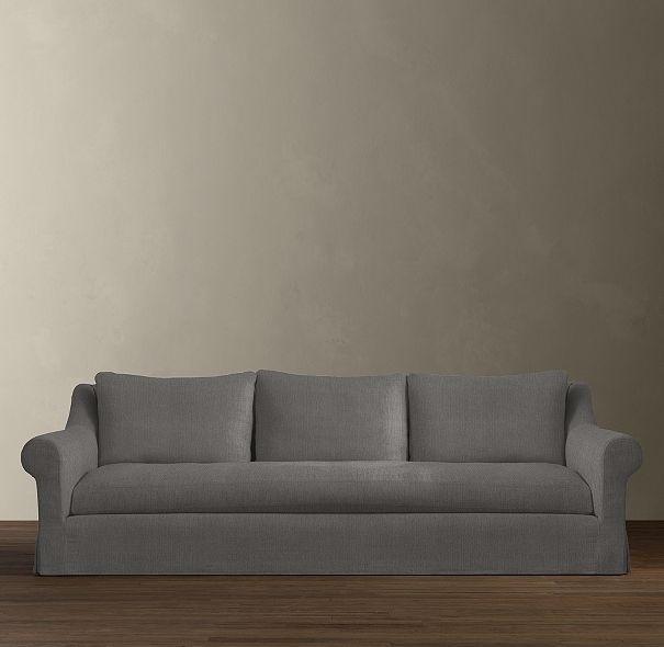 Belgian Roll Arm Slipcovered Sleeper Sofa | Sleepers | Restoration ...