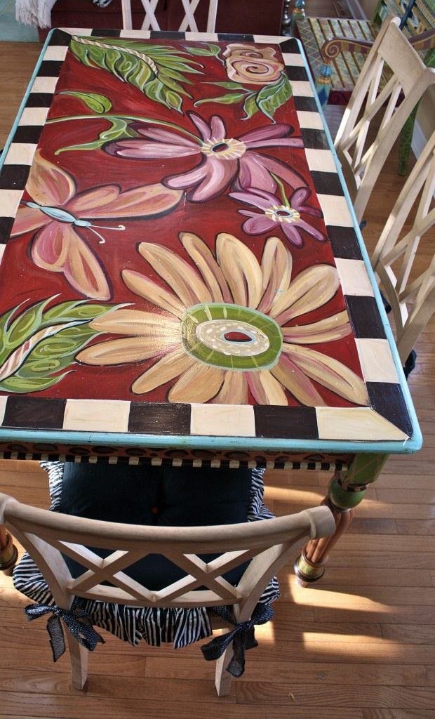 From Lisa Frost.  No one else could design this table!