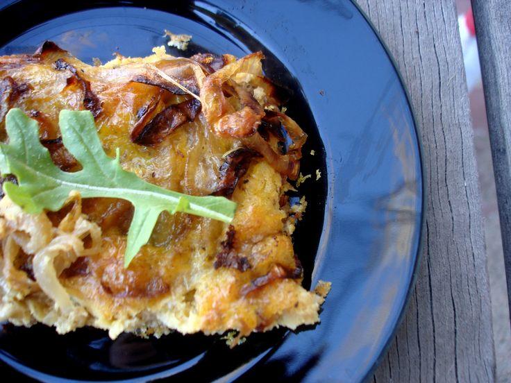 Caramelized Onion Frittata | Recipe