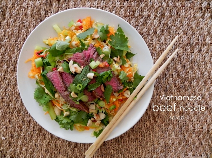 Vietnamese Bun Bo Xao Beef Noodle Salad Recipes — Dishmaps