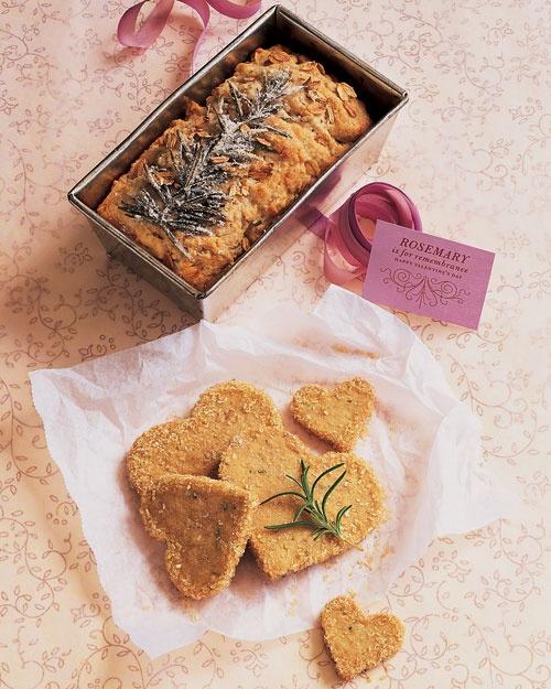 Rosemary-Walnut Shortbread Cookies   Recipe