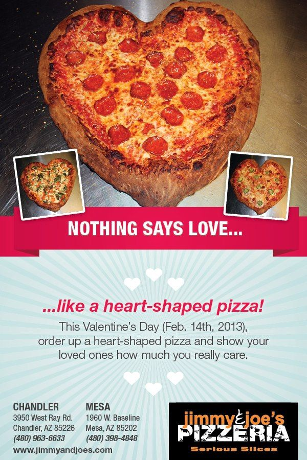 heart shaped pizza for valentine's day 2013