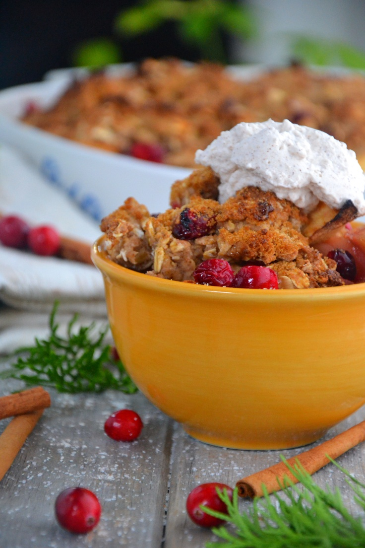 Apple cranberry cobbler | Recipes I want to try | Pinterest