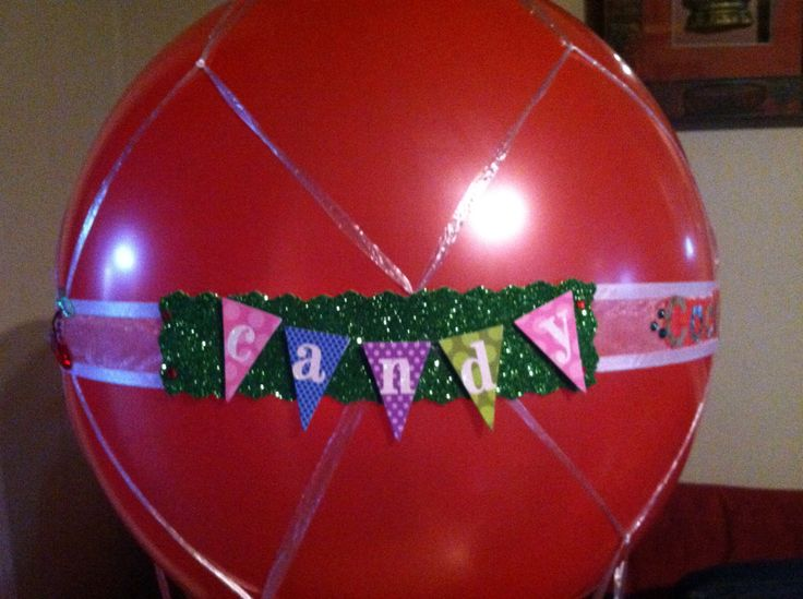 hot air balloon basket dc candy drops llc pinterest