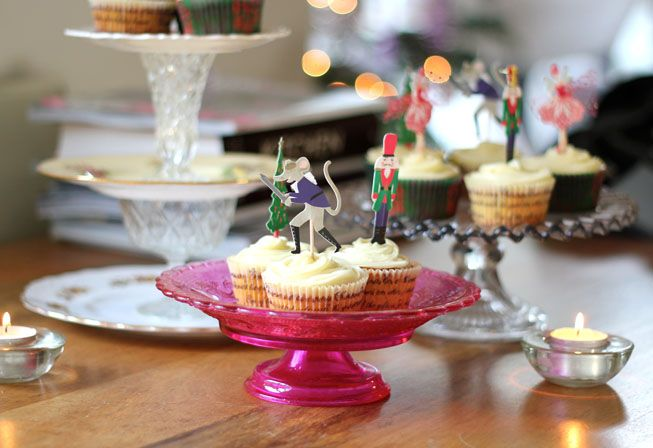 meri meri Nutcraker cake toppers