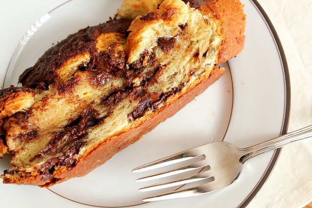 yeasted chocolate coffee cake | Things that keep me up at night. | Pi ...