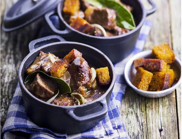 Carbonnade à la flamande | La Cuisine | Pinterest