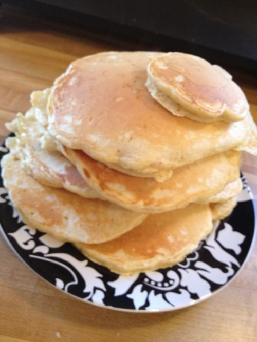 Eggnog Pancakes | The Most Wonderful Time of the Year | Pinterest