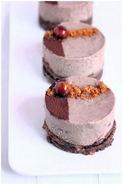 Chocolate-Glazed Hazelnut Mousse Cake Recipe — Dishmaps