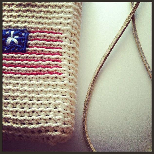 crochet USA mobile phone bag v?skor Pinterest